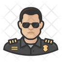 Male Police Officer Police Officer Icon