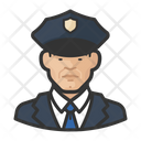 Male Police Officers Police Officers Icon