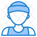 Male Runner Icon