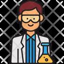 Male Scientist Man Scientist Scientist Icon