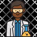 Male Scientist Icon