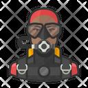 Male Scuba Diver Male Scuba Diver Icon