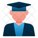 Male Student Avatar People Icon