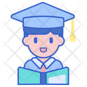 Student Male Graduate Student Avatar Icon