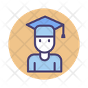 Male Student Graduate Student Avatar Icon