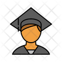 Male Student Student Avatar Icon