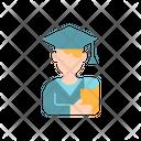 Male Student Graduate Student Graduation Icon