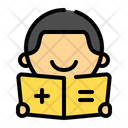Male Student Icon