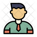 Male Student Student Man Icon