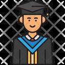 Male Student Graduate Student Graduate Boy Student Icon