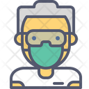 Male Surgeon Surgeon Doctor Icon