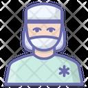 Male Surgeon Avatar Icon