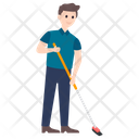 Sweeper Custodian Janitor Icon