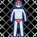 Male Swimmer Icon
