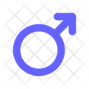 Male Symbol Gender Symbol Male Gender Sign Icon