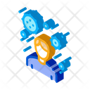 Male Virus Carrier Icon