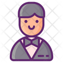 Male Waiter Icon