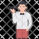 Male Waiter Avatar Icon