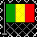 Mali Country Flag Flag Icon