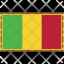 Mali Flag Country Icon