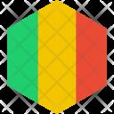 Mali Flag World Icon