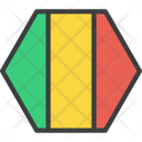 Mali African Country Icon