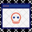 Malicious Web Website Icon