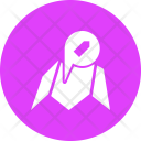 Mall Shopping Map Icon