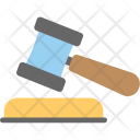 Gavel Mallet Auction Icon