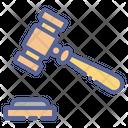 Hammer Judge Law Icon