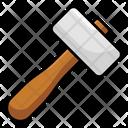 Mallet Sledge Hammer Construction Tool Icon
