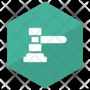 Mallet Law Hammer Icon