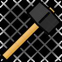 Mallet Hammer Construction Icon