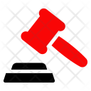 Authority Law Hammer Icon