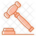 Auction Business Law Icon