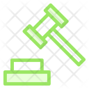 Hammers Mallet Judge Icon