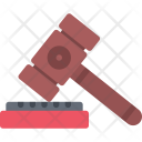 Judge Hammer Mallet Icon