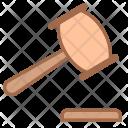 Law Mallet Justice Icon