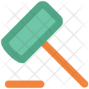 Mallet Gavel Handy Icon