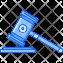 Mallet Judge Hammer Icon