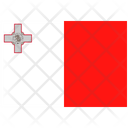 Flag Country Malta Icon
