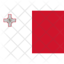 Malta National Country Icon