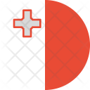 Malta Flag Country Icon