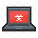 Malware Laptop Computer Icon