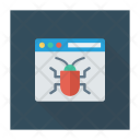 Malware Webpage Virus Icon