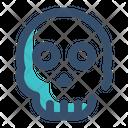 Malware Virus Skull Icon