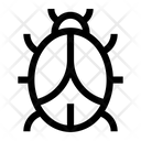 Virus Bug Antivirus Icon