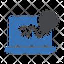 Malware Bomb Computer Danger Hacker Icon