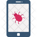 Malware Mobile Mobile Hacked Mobile Virus Icon