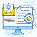Web Danger Malicious Malware Scanner Icon
